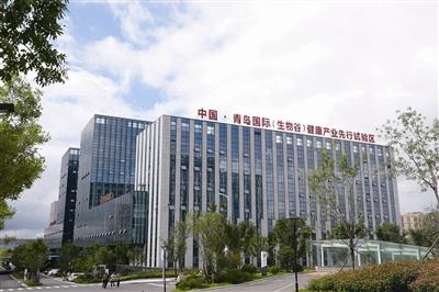 ⑤位于青岛国际陆港的跨境电商小镇.