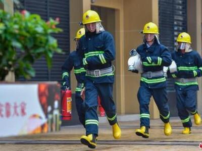 前十月全国消防队伍出动千万人次,营救十余万人