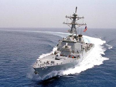 """维护所谓""""航行自由"""" 美驱逐舰叫板俄罗斯"""