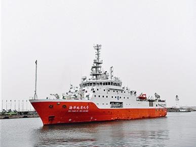 """轻松给海底资源做""""CT"""",青岛这条科考船了不得!"""
