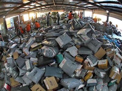 快递业将进入每年600亿件时代 收入7150亿