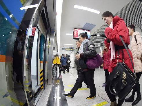 青岛地铁2018乘客满意度调查 得分最高的是这条线路