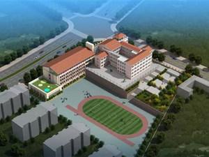青岛规模最大的小学封顶 设计60班可招2400名学生
