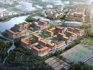 青岛大学胶州校区计划今年5月开建 效果图抢先看(图)