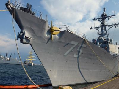 """美舰进入黑海 俄议员警告""""远离俄罗斯海岸线"""""""