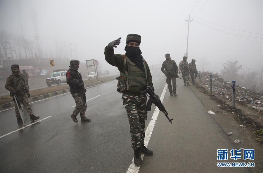 (国际)(2)印控克什米尔地区自杀式袭击事件死亡人数升至40余人
