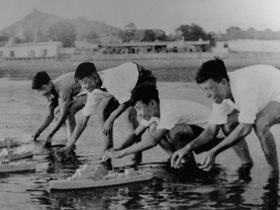 老照片〡1958年,青島舉辦全國首屆航海運動會