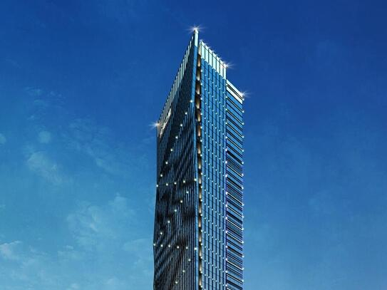 """高约260米!""""青岛造""""广西北海第一高楼开工(图)"""