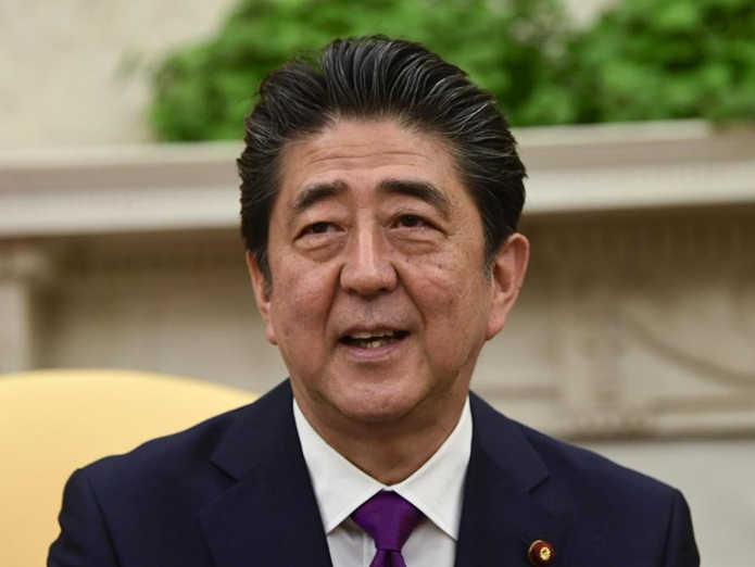 安倍晋三启程出访欧美6国 将与特朗普举行会谈