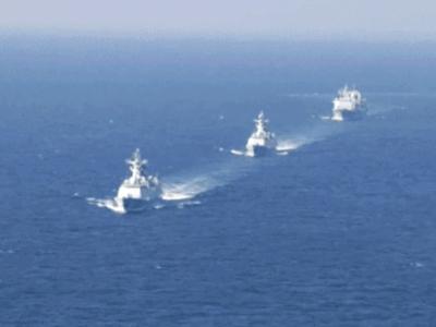 貴陽艦、日照艦官兵講述參加此次多國海軍活動感受
