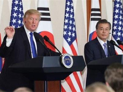 青瓦臺:韓美總統通電話商討重啟無核化談判等事宜