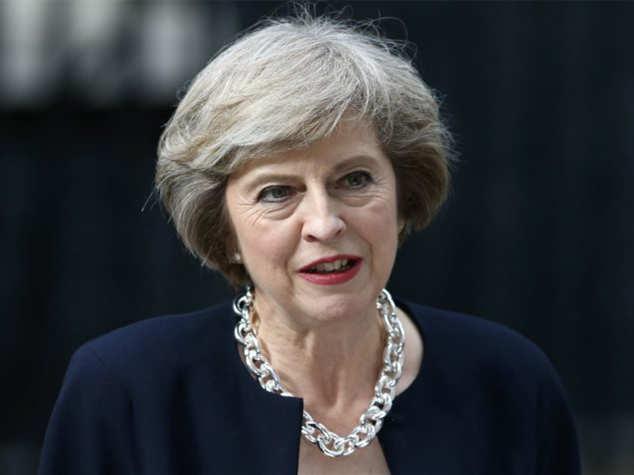 """英首相誓守諾:""""脫歐""""""""第一階段""""實現后離職"""