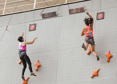 高手过招!全民健身运动会攀岩比赛15日莱西开赛