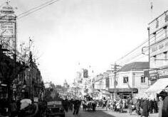 1946年的青岛:美货市场火爆 舞女失业