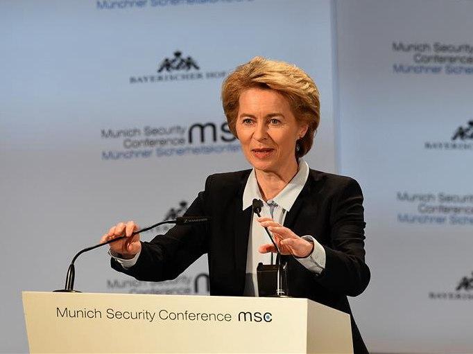 欧盟下届领导人人选出炉 德国防长被提名为欧盟主席