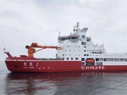 """""""雪龙2""""号正式交付 船上的黑科技涂料竟是""""青岛造"""""""