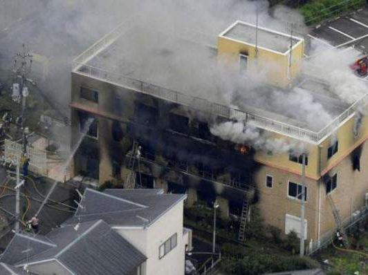 京都动画纵火案33死:公司曾接恐吓邮件 首相下令彻查