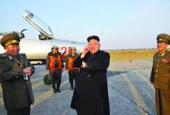 朝中社:金正恩再次指導新型火箭炮試射