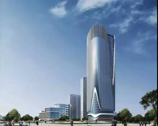 """李滄區又一超高層建筑""""破土而出"""" 地上建筑高度達160米"""