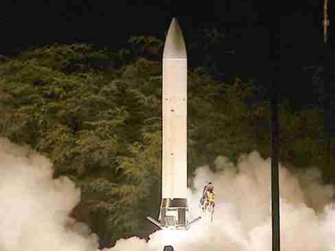 美國試射新陸基中程導彈 曾在《中導條約》禁止范圍