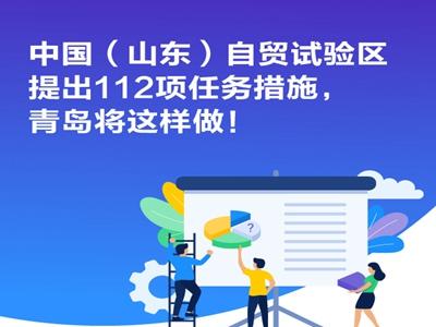 青报图解〡山东自贸试验区提出112项任务措施,青岛将这样做