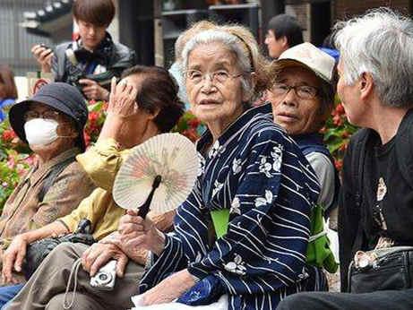 65歲以上人口占比世界最高 日本將進入超高齡社會