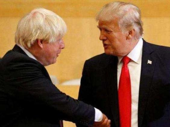 """英美同意""""閃簽""""貿易協定 打算明年七月前完成"""