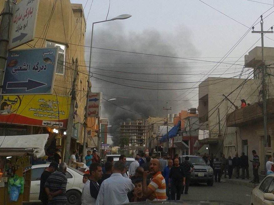 美國駐伊拉克大使館附近遭迫擊炮彈襲擊