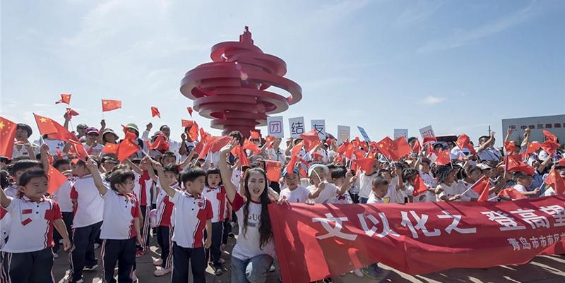 """青岛""""五月的风""""变身网红打卡地"""