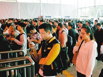 鐵路國慶假日運輸昨啟動 預計發送旅客1.42億人次