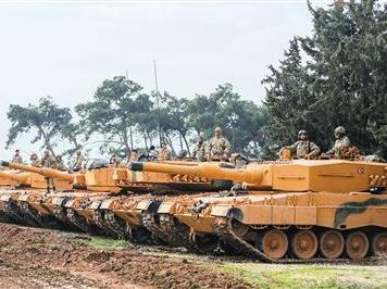 土耳其對敘利亞北部地區展開地面軍事行動