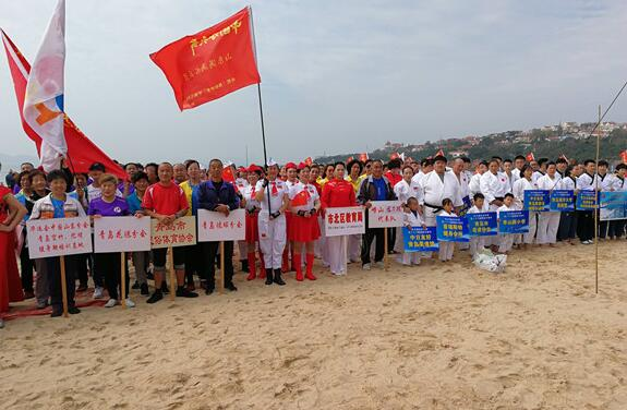 第28屆青島國際沙灘節開幕 活動將持續至10月15日