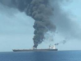 """被兩枚""""導彈""""擊中 伊朗油輪紅海遇襲"""
