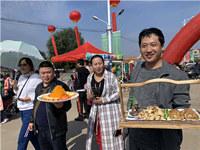 第3屆鰲山衛白廟芋頭文化節開幕 白廟芋頭價高不愁賣