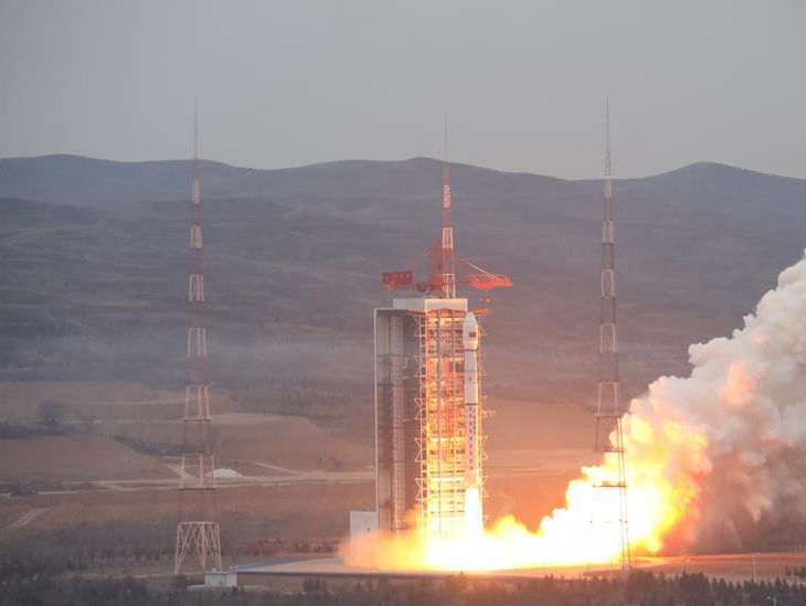 我國成功發射高分十二號衛星 任務獲得圓滿成功