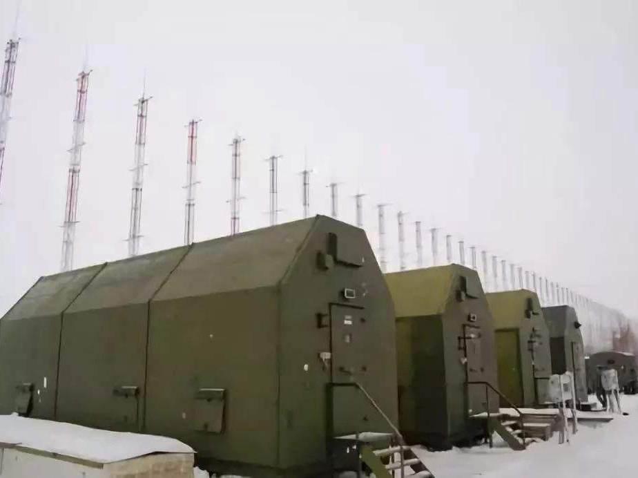 """俄軍首座""""集裝箱""""超視距雷達站正式進入戰斗值班"""