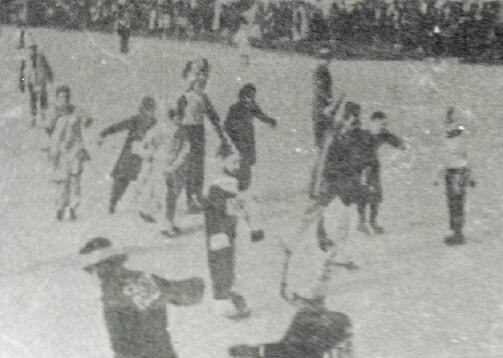 1930年代的小西湖溜冰場