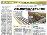 青岛日报专版〡2020,青岛乡村振兴攻势这样推进