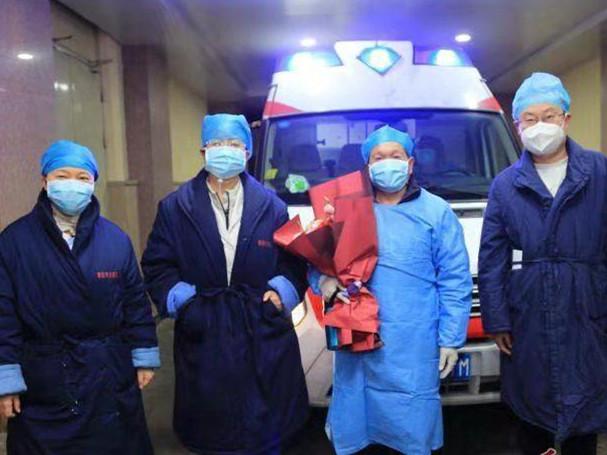 青島第5例新型冠狀病毒感染的肺炎患者治愈出院