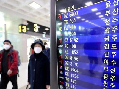 三國首次報告新冠病毒感染病例 韓日等病例數繼續增加