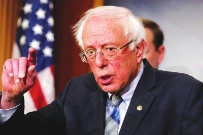 美國民主黨總統競選人桑德斯否認終止競選活動
