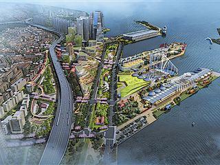 激蕩逾百年!青島國際郵輪母港區:向未來遠航