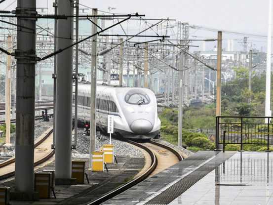 2020年底我國高鐵將達3.9萬公里