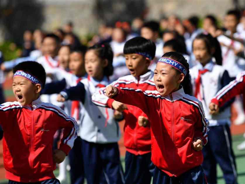 教育部:低風險地區學生在校參加體育活動不需戴口罩