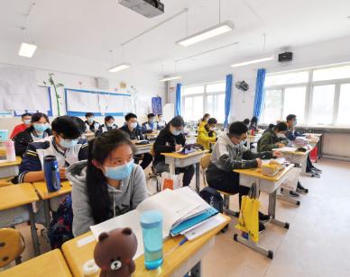 11月底,一鍵式緊急報警系統覆蓋青島中小學幼兒園
