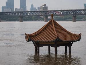 長江中下游干流控制站陸續突破警戒水位