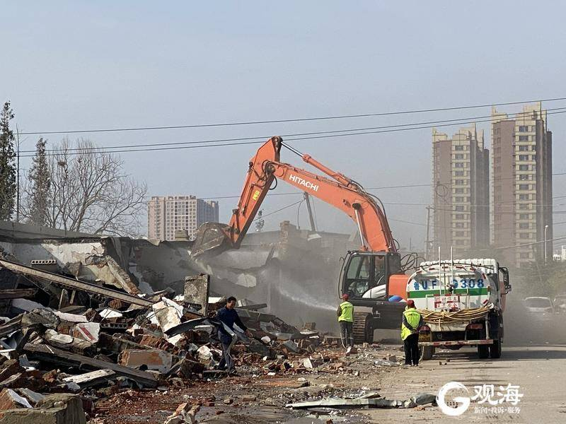 仓库、群租房……崂山这个区域近百亩违建拆了!