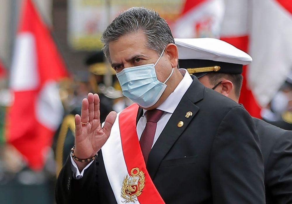 上任僅6天,秘魯總統梅里諾宣布辭職