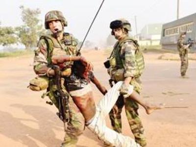 中非部分地區發生武裝交火:數百中國公民撤出