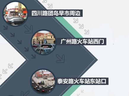 青岛这25处路段停车最易被贴罚单